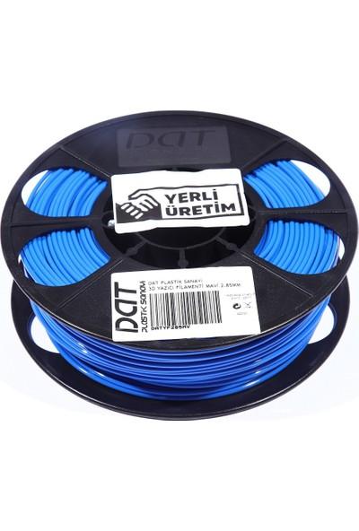 Dat Plastik Yerli Üretim Pla 3D Filament Mavi 1.75MM