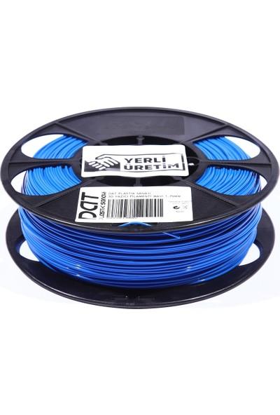 Dat Plastik Yerli Üretim Pla 3D Filament Mavi 2.85MM