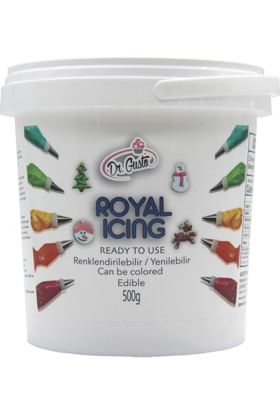 Dr Gusto Dr. Gusto Royal Icing (500 Gr)