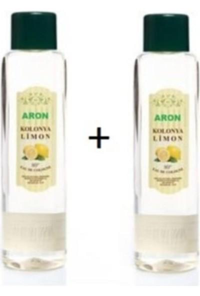 Aron Limon Kolonyası 80 Derece 400 ml x 2 Adet