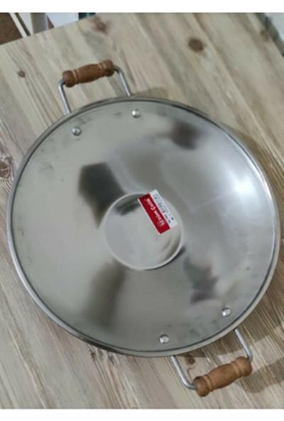 Üzüm Çelik Kavurma Sacı-Gözleme Tavası No :4 41 cm Krom Içerikli Paslanmaz Çelik