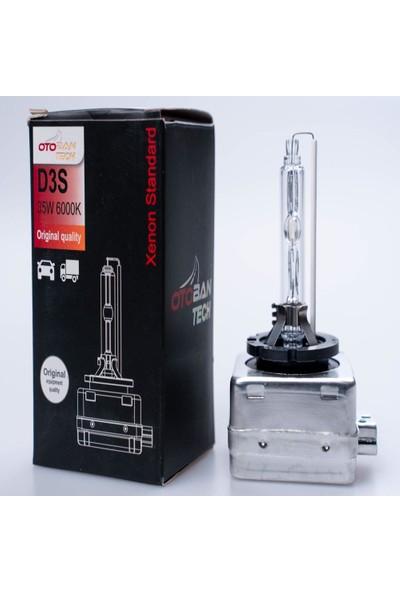 Otoban Oto LED Far Xenon Ampul D3S 6000K 35W Otoban