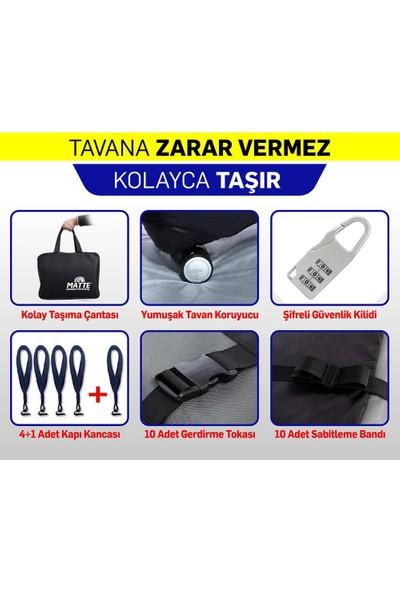 Matte Araç Üstü Tavan Çantası / Yeni Nesil Port Bagaj