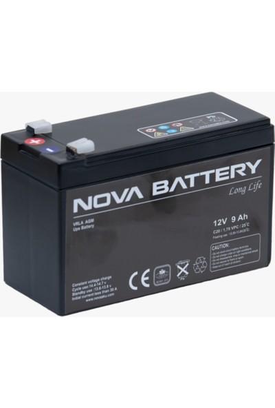Nova Novajel 12V 9AH Kuru Tip Akü NV/SDB-912