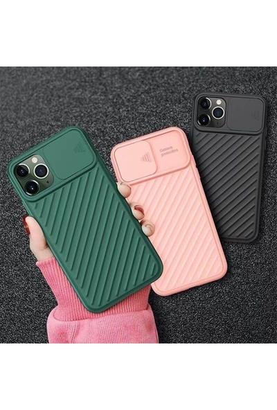 Iphone Xs Max 6.5 Inch Kılıf Kamera Kapatan Koruyucu Sürgülü Kılıf