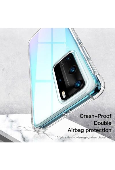 Huawei P40 Anti-Drop Darbe Emici Silikon Kılıf