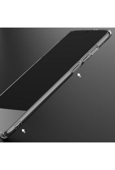 Xiaomi Mi 9 Lite- Mi Cc9 Kamera Korumalı Fit Şeffaf Silikon Kılıf