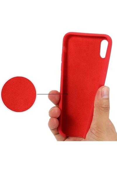 Ssmobil iPhone Xs Max 6.5inch Liquid Silicone Lansman Soft Silikon Kılıf