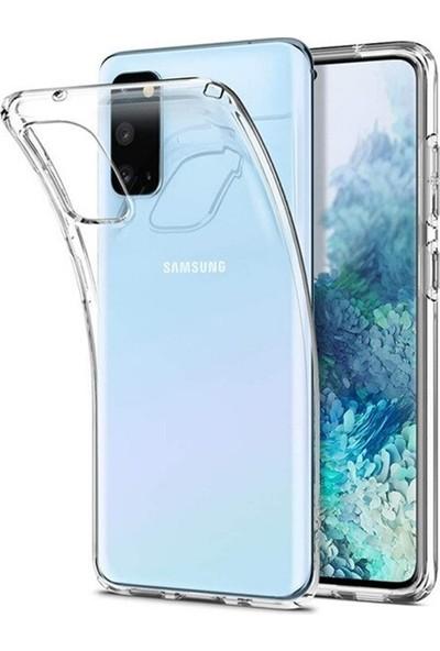 Samsung Galaxy S20 Kamera Korumalı Ultra Slim Silikon Kılıf