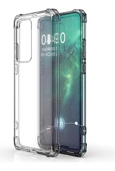 Huawei P40 Pro+Plus Anti-Drop Darbe Emici Silikon Kılıf Shockproof Kılıf