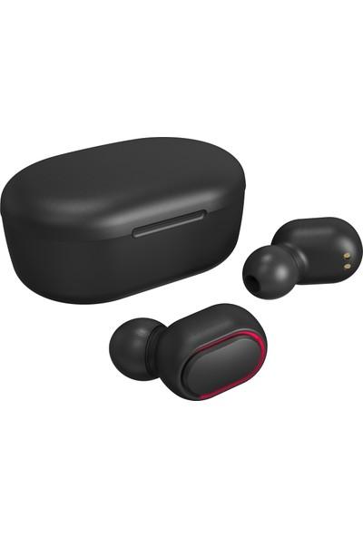 Asonic AS-TWS7S Siyah Mobil Telefon Uyumlu Bluetooth Tws Airpods Mikrofonlu Kulaklık