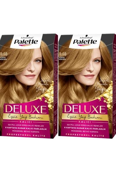 Palette Deluxe Saç Boyası 8-65 Kahve Köpüğü 2li