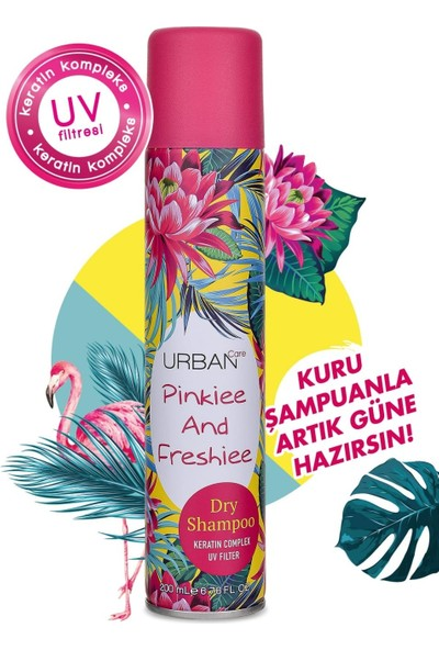 Urban Care Pinkiee And Freshiee Dry Shampoo 200 ml