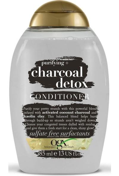 Organix Charcoal Detox Saç Kremi 385 ml