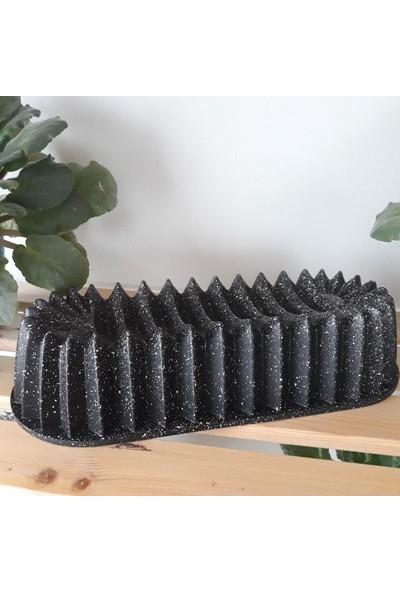 Alkar Döküm Baton Kek Kalıbı Siyah