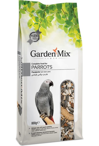 Garden Mix Gardenmix Platin Papağan Yemi 800G