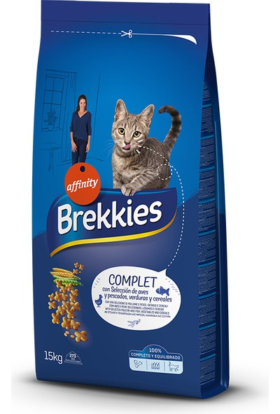 Brekkıes Excel Cat Complet 15 kg