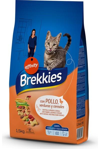 Brekkıes Excel Cat Mıx Chıcken 1,5 kg