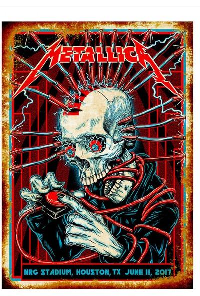 Tablomega Metallica Modern Mdf Tablo