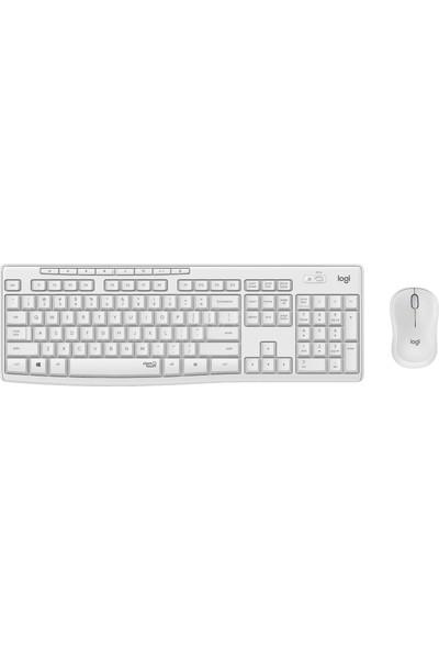 Logitech MK295 Kablosuz Sessiz Klavye Mouse Set 920-010089 Beyaz