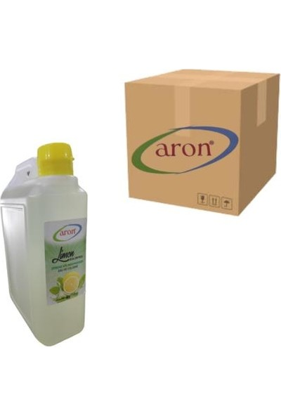 Aron Limon Kolonyası 950 ml 12'li (1 Koli 12 Adet)
