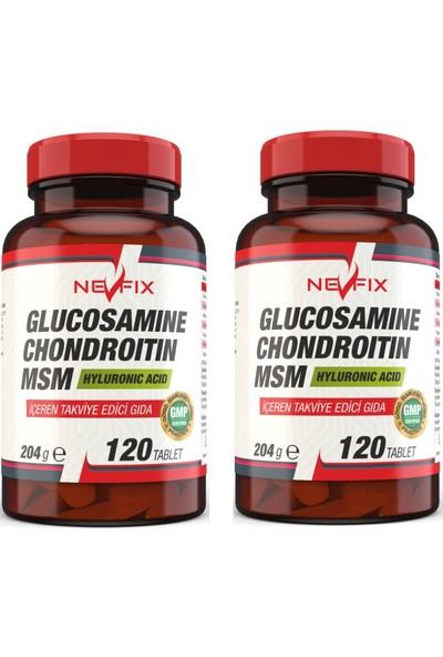 Glucosamine Chondroitin Msm (2 Kutu) 120 Tablet