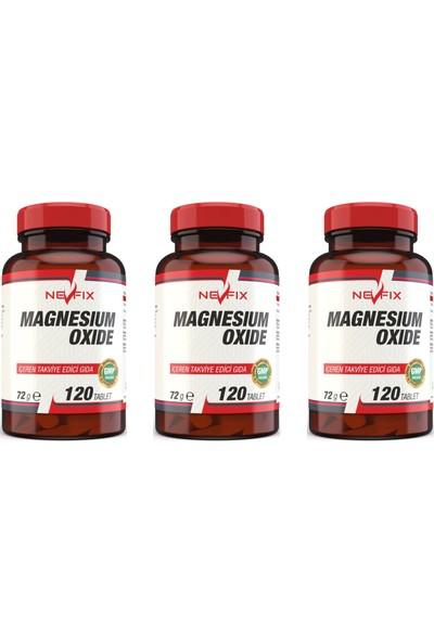 Magnesium Oxide Magnezyum 250 Mg (3 KUTU)120 Tablet
