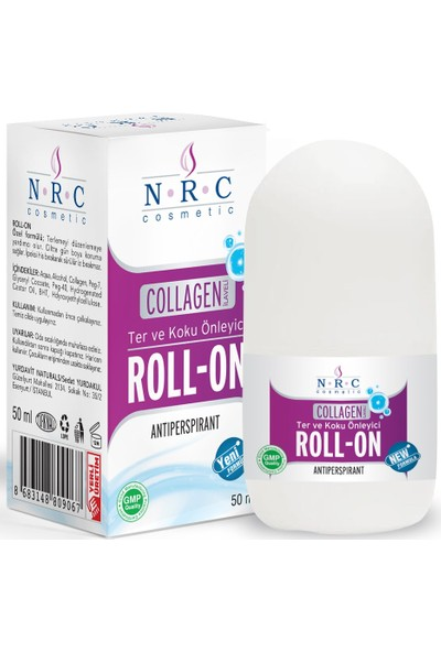 Nrc Roll-On Collagen Takviyeli Antiperspirant 50ML Ter ve Koku Önleyici