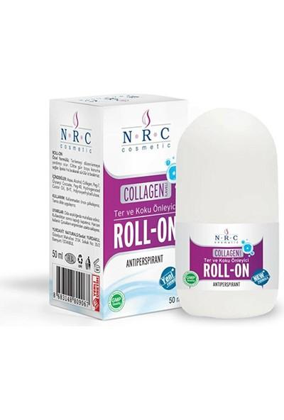 Nrc Roll-On Collagen Takviyeli Antiperspirant 50ML Ter ve Koku Önleyici ( 2 Kutu)
