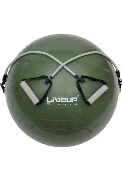 Liveup LS3227 65 cm Lastikli Pilates Topu