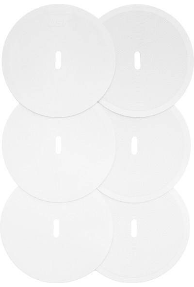 USR YYB 6 lı Yuvarlak Yer İşareti Seti Beyaz