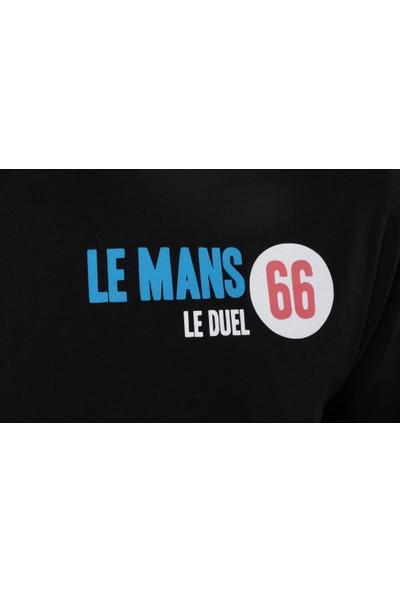Ral Sport 95300 Le Mans Erkek O Yaka Tişört Siyah