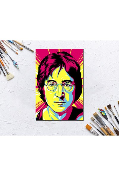 Trend Avm John Lennon Sayılarla Boyama Hobi Seti