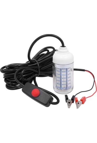 Mbw 12V 15W Sualtı LED Lamba Balık Bulucu (Yurt Dışından)