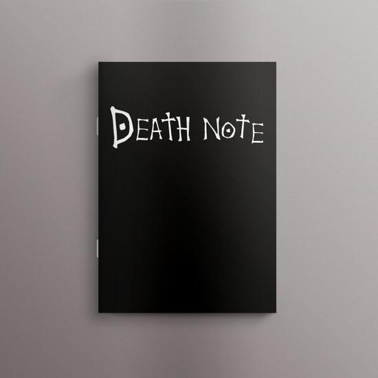 Bookalemuntr Death Note Çizgisiz Defter 60 Sayfa