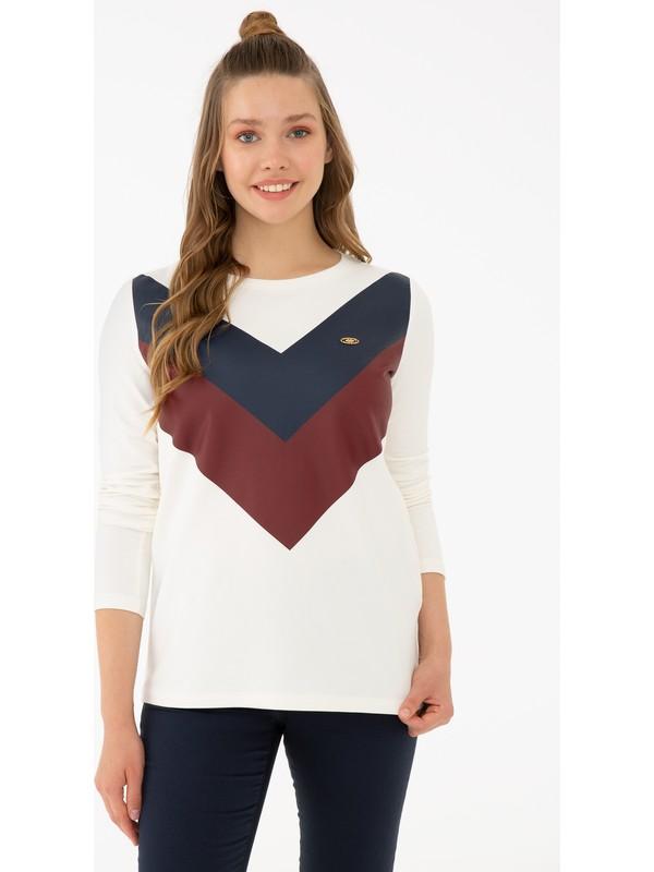 U.S. Polo Assn. Beyaz Sweatshirt 50233386-VR019
