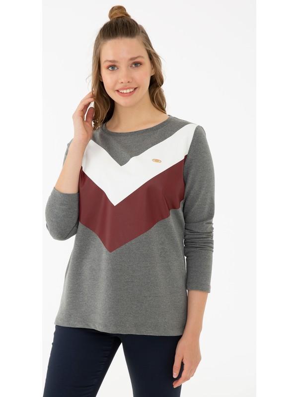 U.S. Polo Assn. Gri Sweatshirt 50233386-VR081