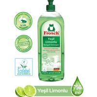 Frosch Bulaşık Deterjanı Yeşil Limonlu 750 ml