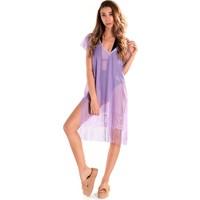 Ingodi Diana Plaj Elbisesi Deniz Plaj Giyim - Açık Mor