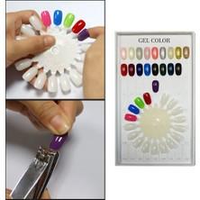 Aba Nails 18 Li Renk Kartelası