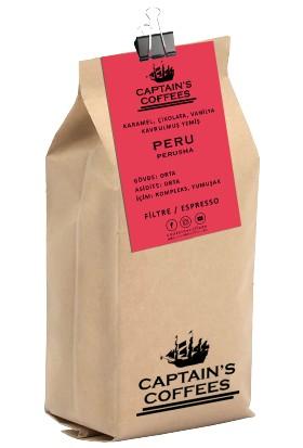 Captain's Coffees - Peru Perusha Öğütülmüş
