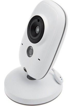 Kingboss Bebek Monitorlü - Gece Görüşlü Oda Sıcaklığı Kontrollü Bebek Video Kamerası