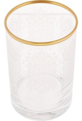 Karaca Nihal 6'lı Kahve Yanı Bardağı Gold