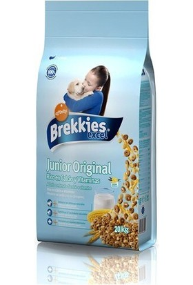 Brekkies Excel Junior Tavuklu Yavru Köpek Maması 20 kg