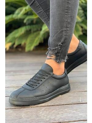 Knack CH063 St Erkek Ayakkabı Siyah