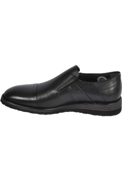Fosco 1533-B Comfort Taban Özel Numara Erkek Ayakkabı - Siyah - 47
