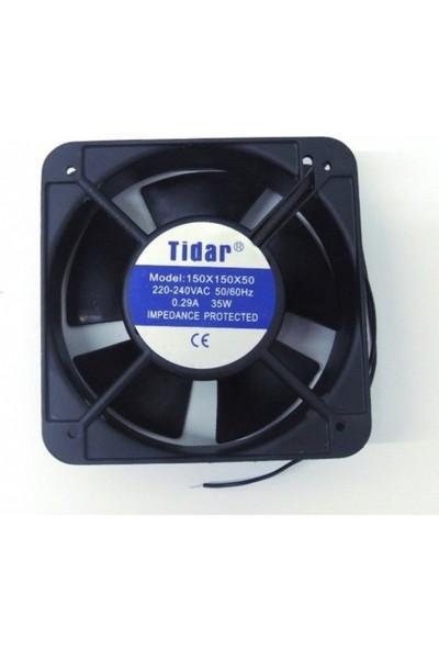 Tidar 150 x 150 x 50 mm 220 Vac Kare Fan