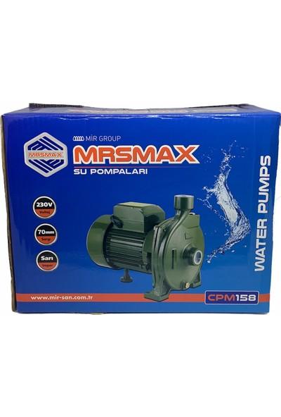 Ibeltech Mrsmax Cpm 158 Elektrikli Su Pompası 6 mt Emiş Bahçe Pompası Su Pompası