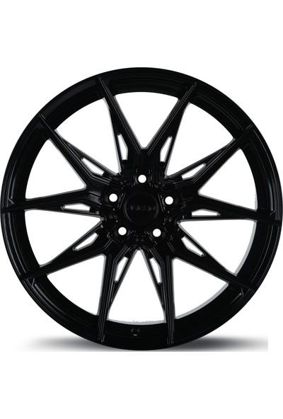 "Arceo Marseille ARC-19177-15 8.5X19""-5X108 ET35 73.1 Glossy Black Jant (4 Adet)"
