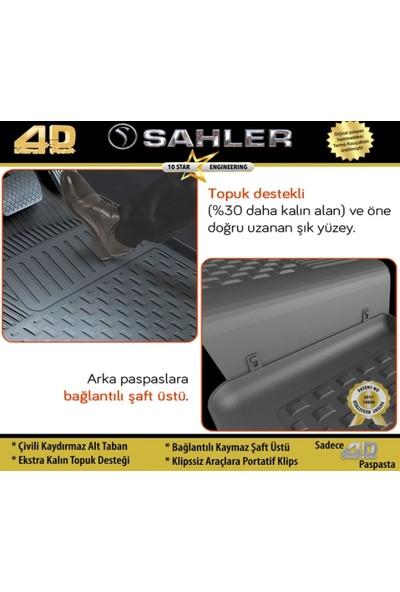 Oto Türk Sahler Volkswagen Golf 7 2013 - 2018 4.5d Paspas Siyah Araca Özel